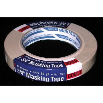 LEPAGE'S INC QuikStik All Purpose Masking Tape, 3/4