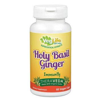 VegLife - Holy Basil Ginger Immunity - 60 Vegan Caps