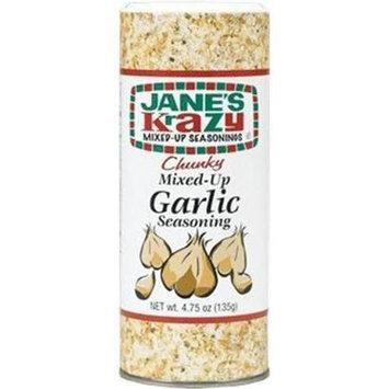 JaneS Krazy Mixed-Up Garlic Seasoning 4.75 Oz (Pack of 12)