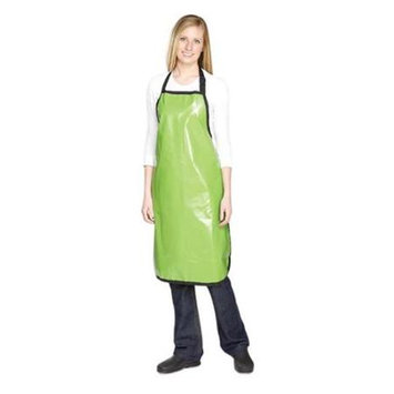 Top Performance TP158 54 Rubber Grooming Apron Grn