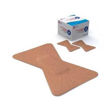 Dynarex Flexible Fabric Bandages, Sterile, 1 3/4 x 2 Fingertip, 6 Boxes of 100