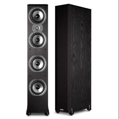 Polk Audio AM7205-A TSI 500 Single Floorstanding Speaker - Black