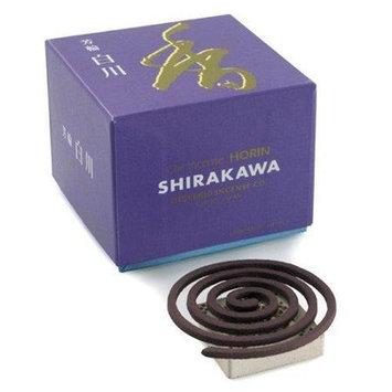 Shoyeido - Horin Incense Coils White River - 10 Count