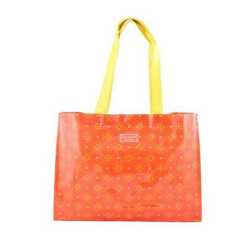 Jacki Design AHL38025OR Cosmopolitan Tote Bag Orange