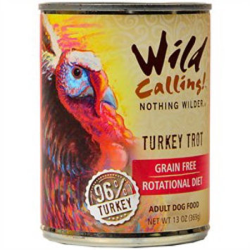 Wild Calling Turkey Trot Canned Dog Food 13.2 oz (case of 12)