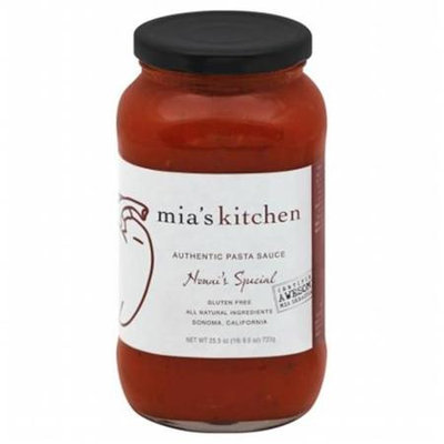 Mias Kitchen Out Of Africa Mias Nonnis Spcl Psta Sc 25.5 Oz -Pack of 6
