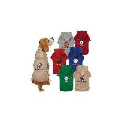 Casual Canine ZM4100 14 13 Sports Hound Hoodie S-M Football