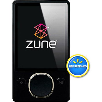 Microsoft Corp. Microsoft Zune 80GB MP3 Digital Media Player (Black) - Microsoft Recertified