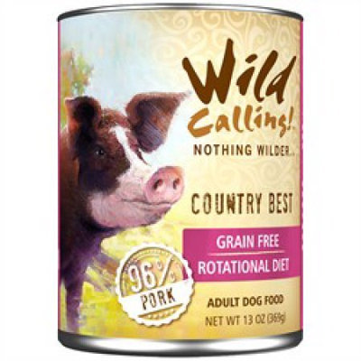 Best Friend Products Corp Wild Calling Country Best Pork Can Dog Food