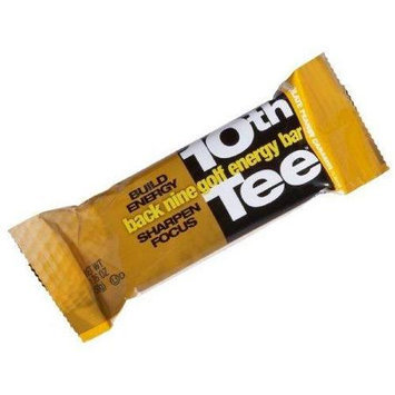 SCNS Sports Foods 10th Tee Chocolate Peanut Caramel Energy Bar, 12pk