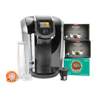 Keurig K425SC Coffee Maker with 24 K-Cups and Reusable K-Cup