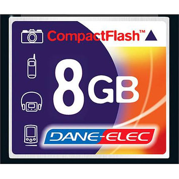 Dane Electronics Dane-Elec 8GB CompactFlash (CF) Card - 43x