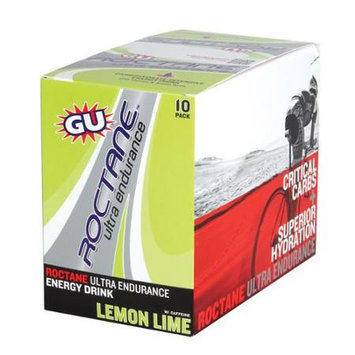 GU Roctane Energy Drink - 10 Pack Lemon Lime, One Size