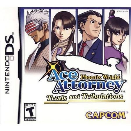 Phoenix Wright: Ace Attorney: Trials and Tribulations Nintendo DS Game CAPCOM