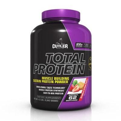 Cutler Nutrition Total Protein Powder, Strawberry Graham Cracker, 4.5 Pound