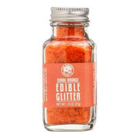 Pepper Creek Farms 400K Coral Orange Edible Glitter - Pack of 12