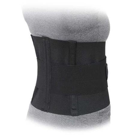 Advanced Orthopaedics 501 - W 10 in. Lumbar Sacral Support With Double Pull Tension Straps White - Extra Small