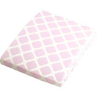 Babies R Us Kushies Playpen Fitted Sheet - Pink Lattice