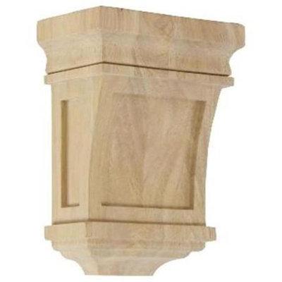Ekena Millwork 5-in x 7-in Alder Santa Fe Wood Corbel