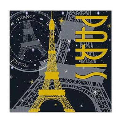 Paris Beverage Napkins Pkg/16
