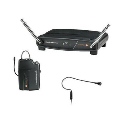 Audio-Technica System 8 Wireless System Includes: Pro 92Cw Headworn Microphone 170.245 Mhz