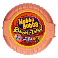 Hubba Bubba Tape Tangy Tropical 2OZ (56.7g)