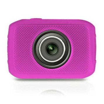 Pyle PSCHD30 High-Definition Sport Action Camera, 5MP, 4x Digital Zoom, 2 TouchScreen Display
