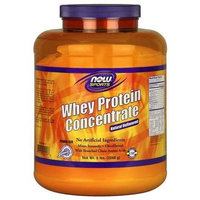 NOW Foods - Whey Protein Concentrate Natural Unflavored - 5 lbs.