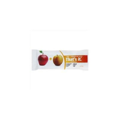 That's it. Apple Apricot Fruit Bar (12x1.2 OZ)
