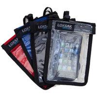 LokSak SPLASHSAK Phone Neck Caddy Case, Black