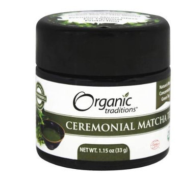 Organic Traditions - Ceremonial Matcha Tea - 1.15 oz.