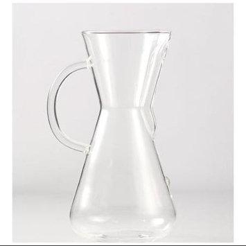 Crate & Barrel Chemex Glass-Handle 6-Cup Coffee Maker
