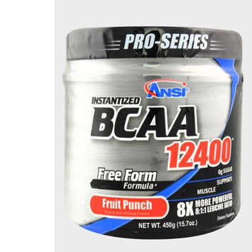 ANSI Instantized BCAA 12400 Powder (450g) - Fruit Punch