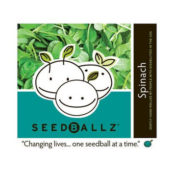 Seedballz Spinach - 8 Pack