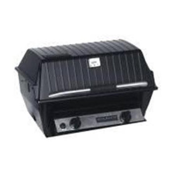Broil-mate Broilmaster R3 Infrared Grill On Stainless Patio Post With Cast Iron Base