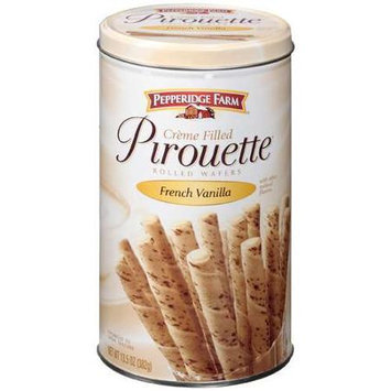 Pepperidge Farm® Creme Filled Pirouette French Vanilla Rolled Wafers