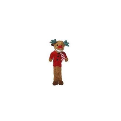 Multipet 784369477702 Reindeer Loofa - Small 6 in.
