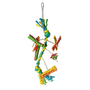 Caitec Rainbow Hors Doeuvres 9in x 8.5in Bird Toy