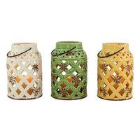 Aspire Charlotte Ceramic Lantern (Set of 3)