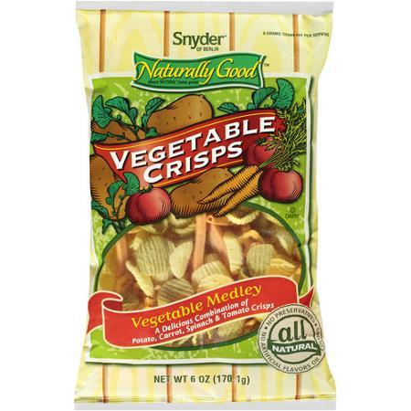 Snyder Of Berlin Naturally Good Vegetable Medley Vegetable Crisps