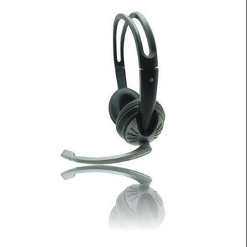 iMicro SP-IMME282 Wired USB Headphone w/ Microphone & Volume Control (Black)