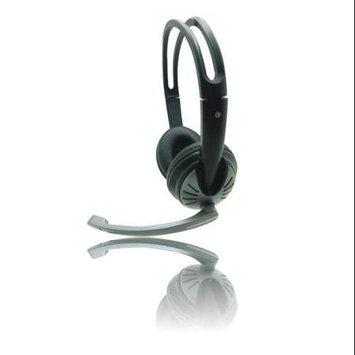 iMicro SP-IMME282 Wired USB Headphone w/ Microphone & Volume Control (Black)