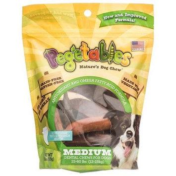 Pegetables Natures Dog Chew - Medium Dental Chews: 18 oz