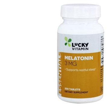 LuckyVitamin - Melatonin 3 mg. - 200 Tablets