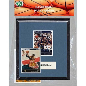 Candicollectables Candlcollectables 67LBPACERS NBA Indiana Pacers Party Favor With 6 x 7 Mat and Frame