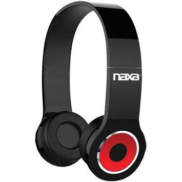 NAXA NE-932 BK Bluetooth Headphones with Microphone (Black)