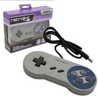 SNES - Controller - Wired - PC USB Compatible - Classic Style (Retro-Bit)