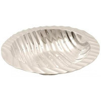 Ambiente Handmade Decorative Aluminum Stripes Salad Container