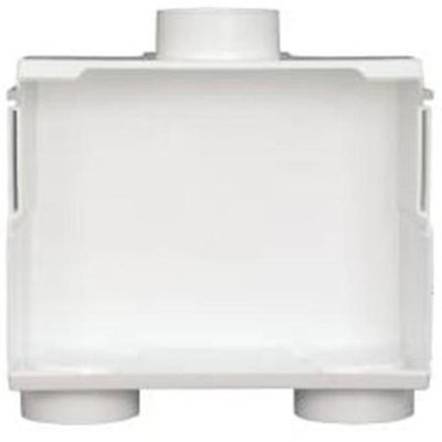 Ips Corporation 531201 Du-All Dual Drain Washer Outlet Box Less Valve-Pack of 4