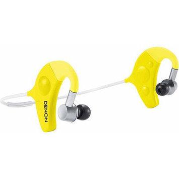 Denon AH-W150YW Exercise Freak In-Ear Wireless Headphone (Yellow)